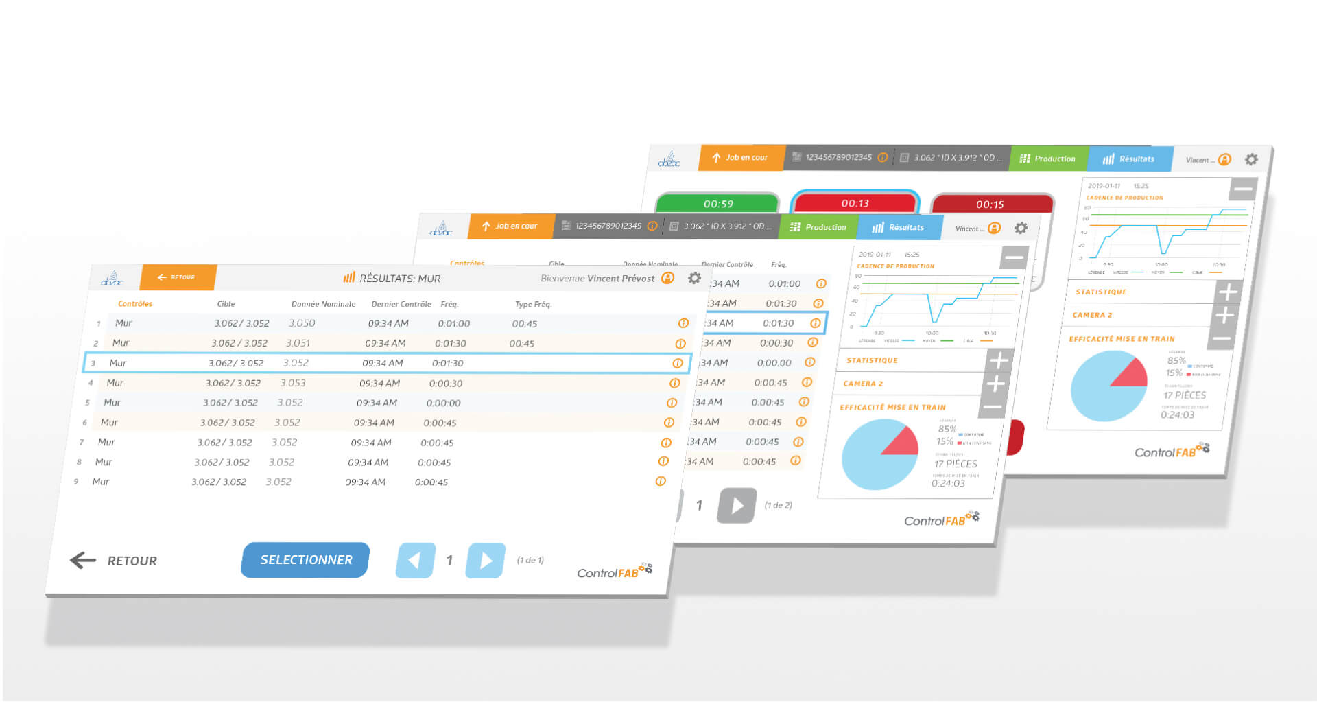 interface de gestion systeme